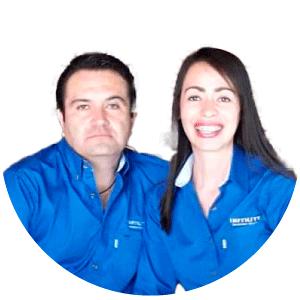 Selene Chávez y Ramón Ruiz